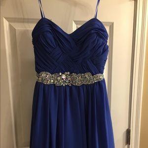 💃🏼Homecoming sz 3 junior formal dress. Strapless